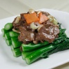 2403 Sliced Beef with Gai Lan