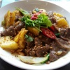 1213 Sauteed Beef with Ginger & Pineapple
