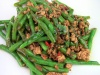 2502 Fried Green Bean with Minced Pork