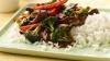 Stir Fried Beef Tenderloin on Rice