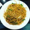 1605 Three Kinds of Meat Chinese Spaghetti