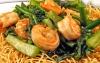 Prawn & Vegetables on Crispy Noodle
