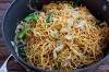 Shredded Chicken & Mushroom on Crispy Noodle