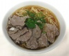 Sliced Tender Beef with Noodle in Soup