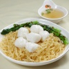 Cuttlefish Balls with Tossed Noodle